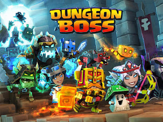 Screenshots of the Dungeon boss for Android tablet, phone.