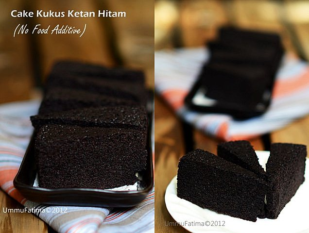 cake kukus ketan hitam