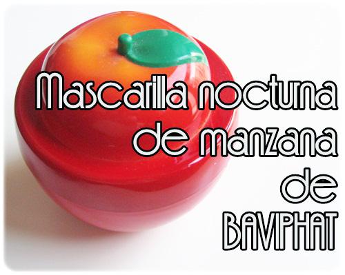 Mascarilla manzana Baviphat
