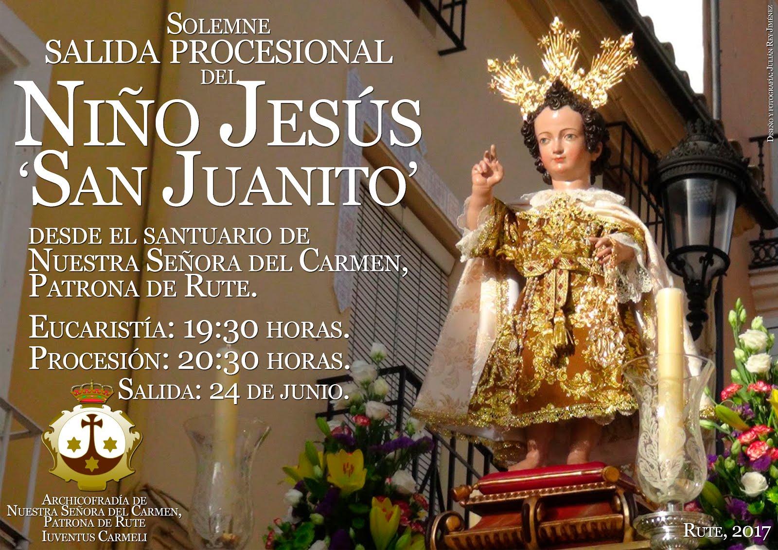Solemne procesión del Niño Jesús 'San Juanito' 2017