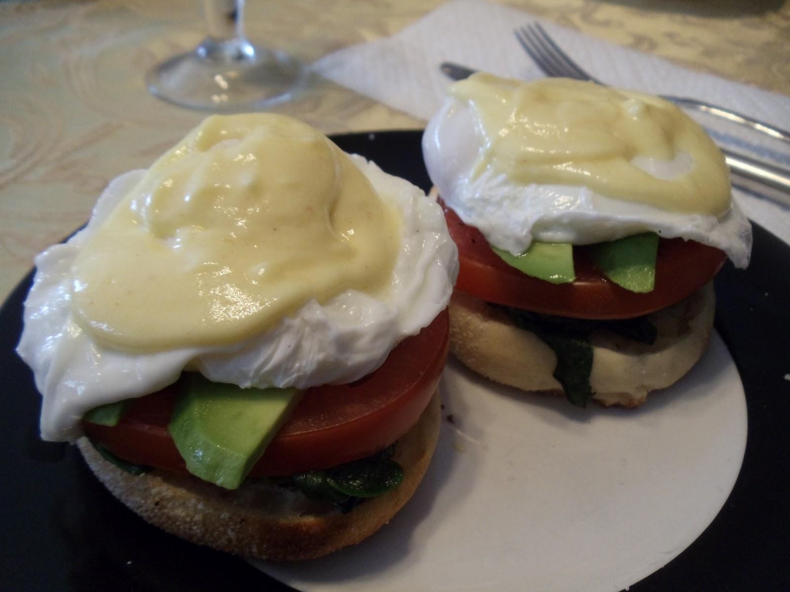 Sarah's Life in Food!: Veggie Eggs Benedict