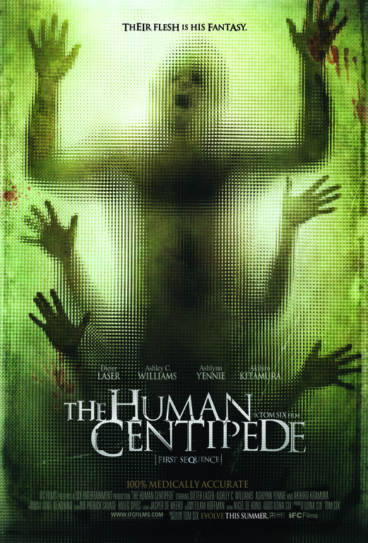 The Human Centipede จับคนมาทำตะขาบ