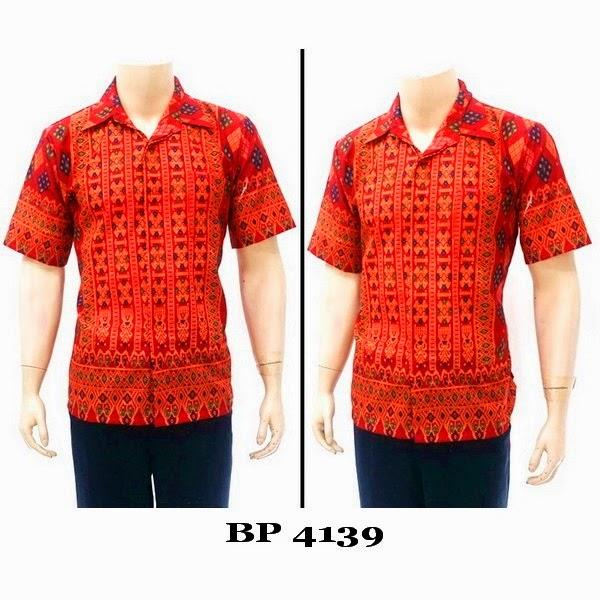 Baju Hem Batik Pria BP4139