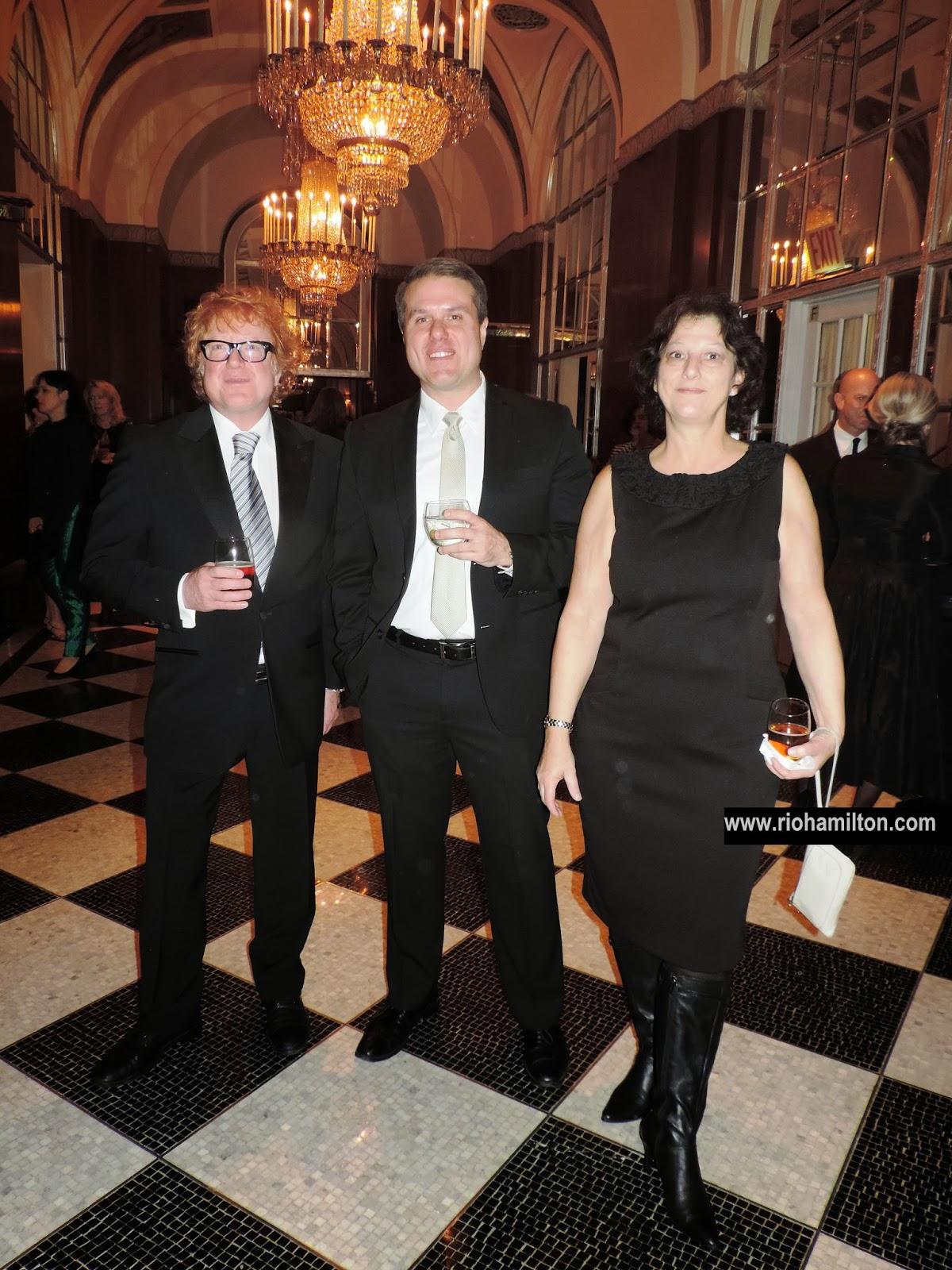Thats Norm Standing Between Kirk Heasley And Joan Bucci