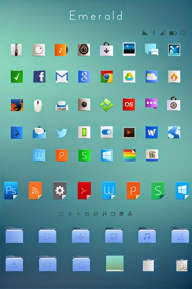 Emerald Theme para Ubuntu