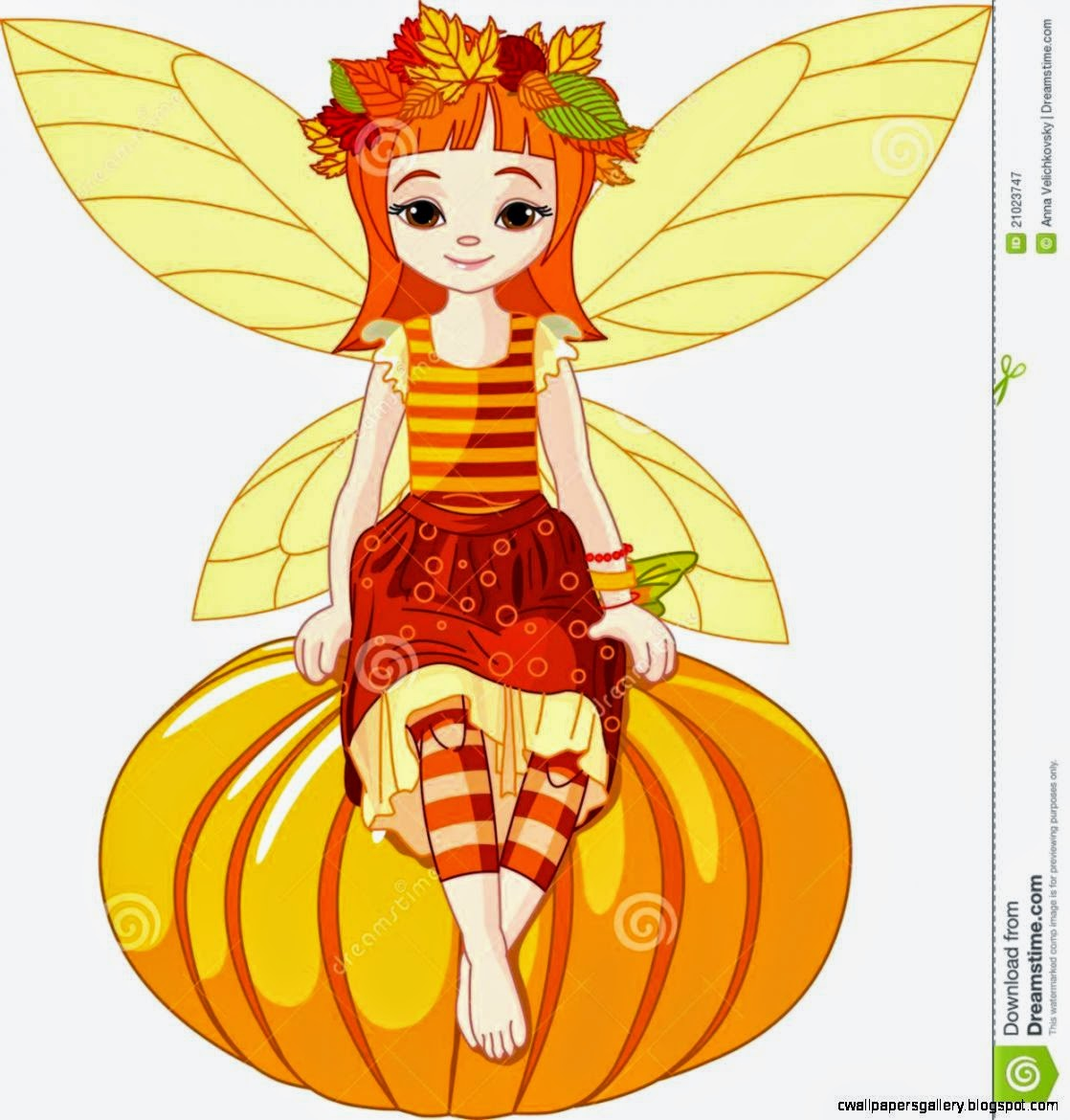 Autumn Fairy Girl Royalty Free Stock Photography   Image 21023747