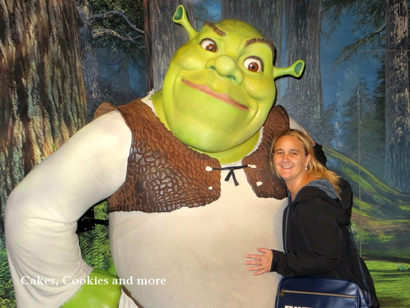 Shrek im Madame Tussauds