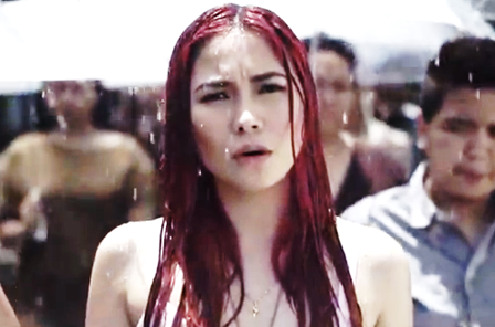 Yeng Constantino Wet in 'Sandata' Music Video | Lyrics Inside