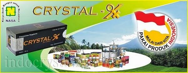 Crystal X Produk Indonesia