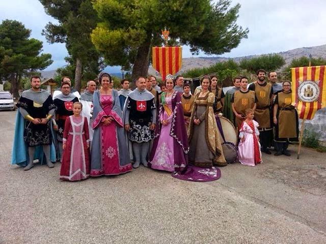GERMANDAT DELS CAVALLERS DE LA CONQUESTA DE CASTELLON EN ALCUBLAS