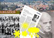 """REVISTA  """"LEGADOS"""" HOMENAJE A LA MEMORIA DE DESIDERIO PADILLA- """"El hombre del tiempo"""""""