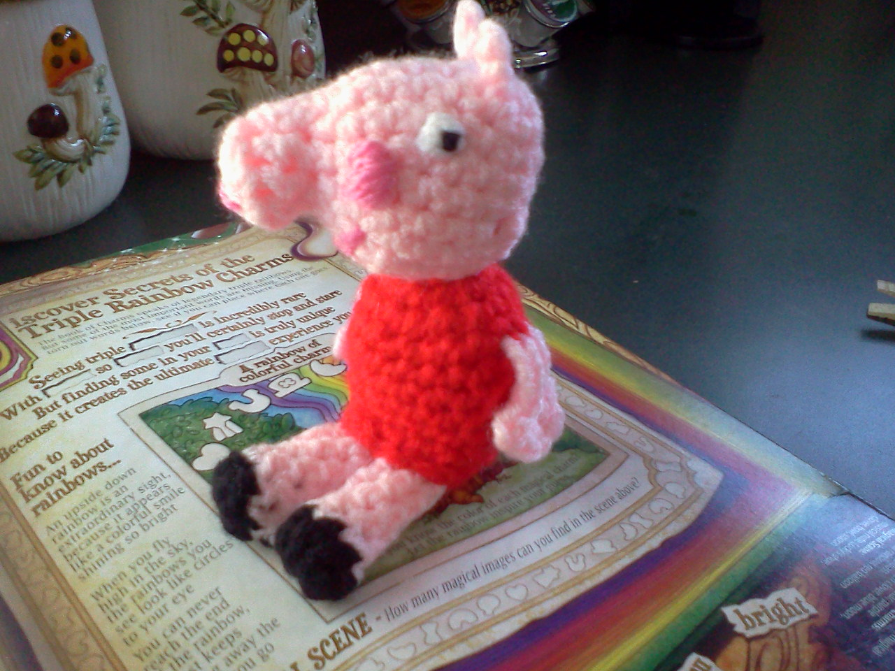 Amigurumi Deer Pattern : Serendipity Creative: Peppa Pig Amigurumi Crochet Doll ...