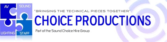 Choice productions - Event Production Services