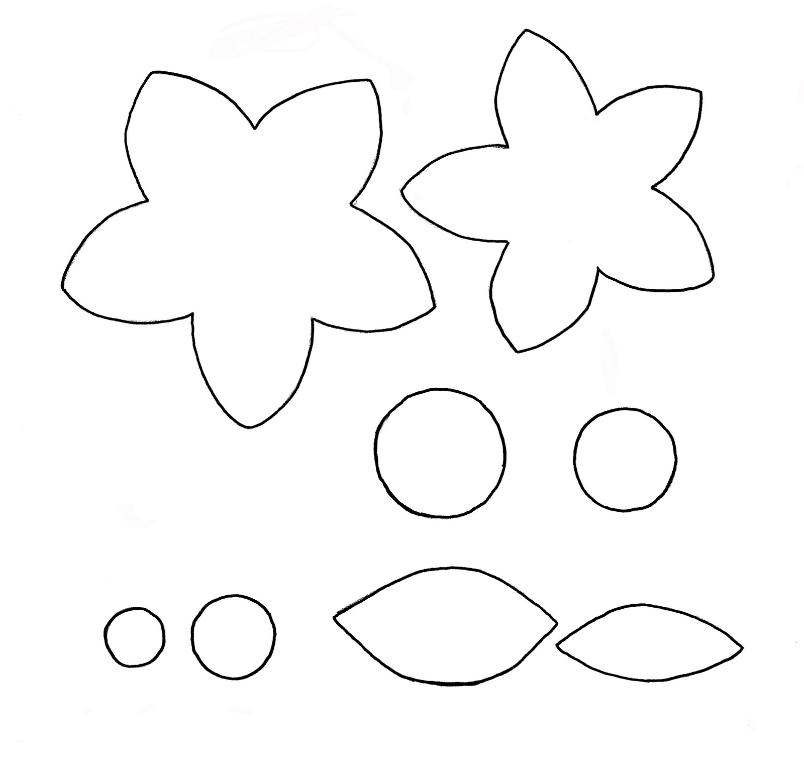 It's just a graphic of Légend Printable Flower Template