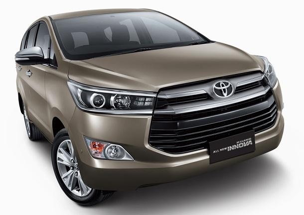 Bagian Depan Toyota All New Kijang Innova 2016