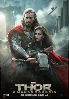 """Poster do filme """"Thor: O Mundo Sombrio"""""""