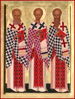 Sâmbătă, 30 ianuarie - Sărbătoarea Sfinților trei Ierarhi