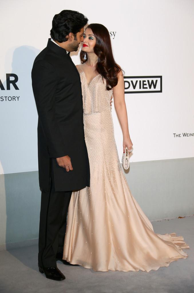 Aishwarya, Abhishek Bachchan - Cannes 2014