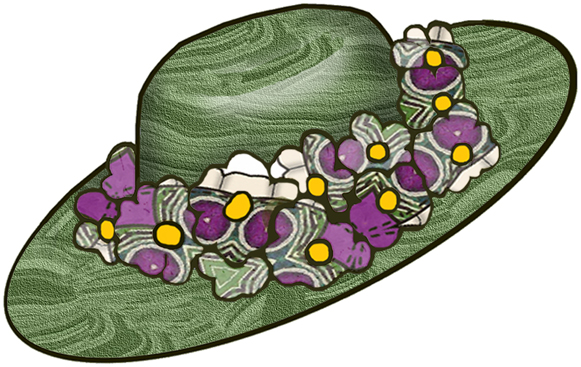 clipart easter bonnets - photo #37