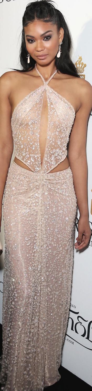 Chanel Iman 2015 Cannes Film Festival