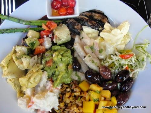 salads at Galeto Brazilian Grill in Oakland, California