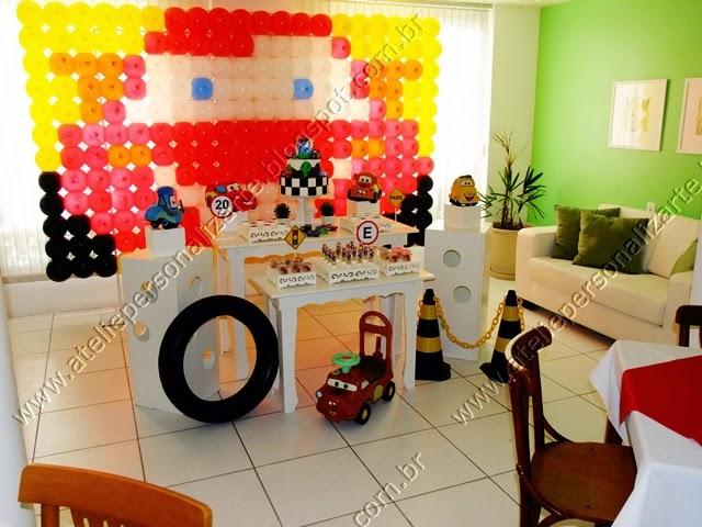 decoracao aniversario infantil carros disney porto alegre