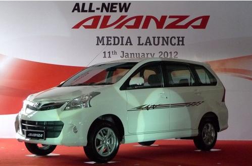 Gambar Toyota MPV Avanza Baru 1