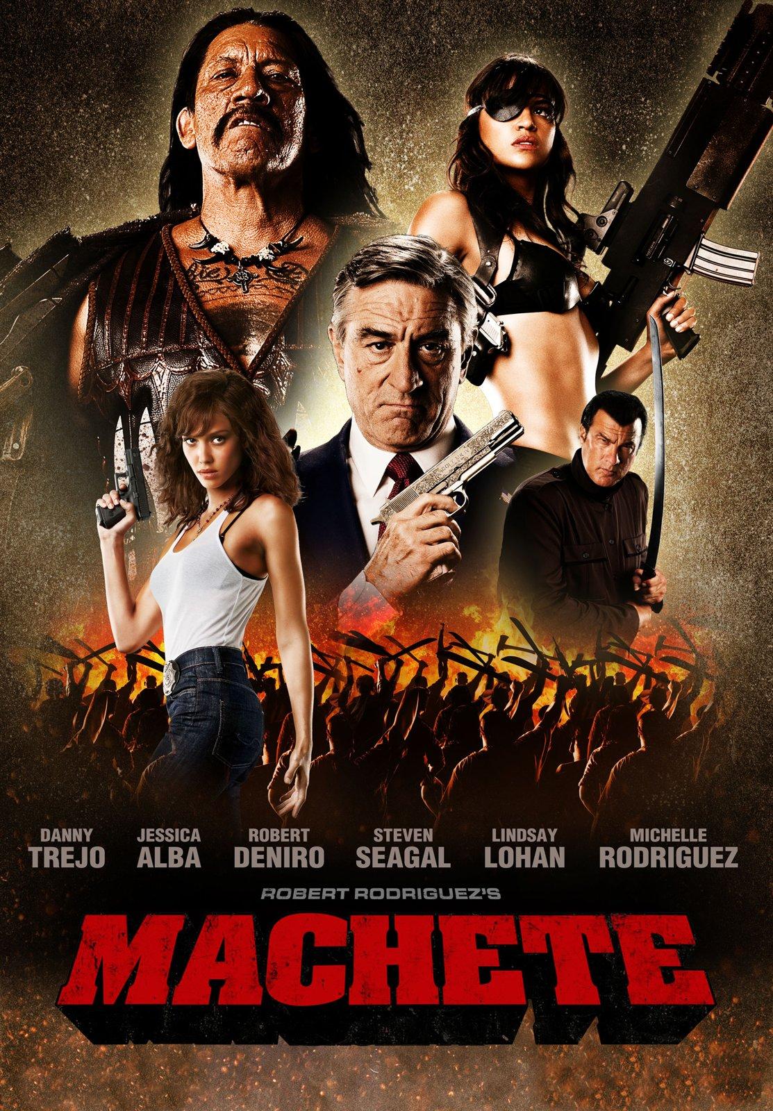"""Afiche de """"Machete Kills"""""""