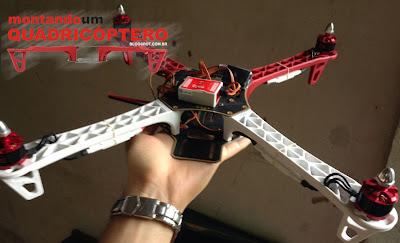 Tutorial de como montar um Drone Quadricoptero