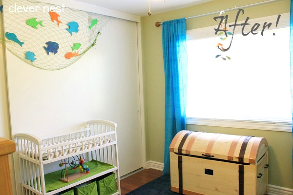 Cute, bright boy's room, nautical theme! #nautical #boys_room