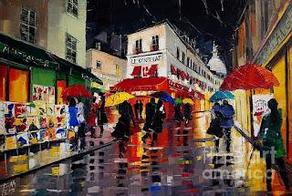 Paisajes Parisinos Cuadros Modernos
