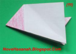 cara melipat kertas origami untuk anak SD