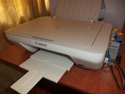 Принтер Canon PIXMA MG2410 с СНПЧ