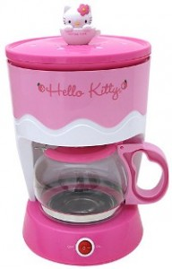 Hello Kitty kitchen coffee maker