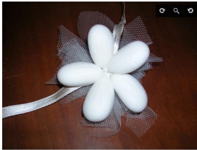 Eccezionale Se mi sponsor..mi sposo!: Tutorial fiore di confetti DL08