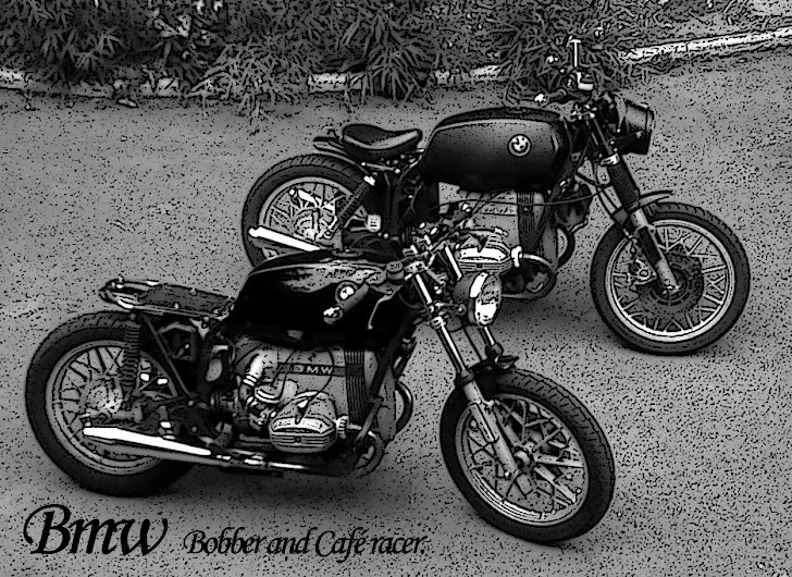 flat bmw r45 r65 caf racer bobber. Black Bedroom Furniture Sets. Home Design Ideas