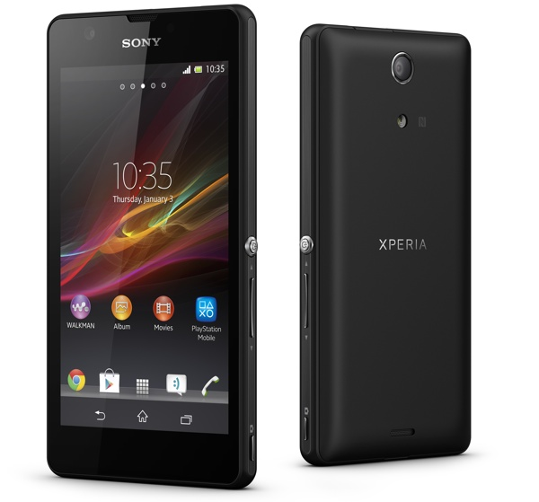 Sony XPERIA ZR The True Under Water Experience