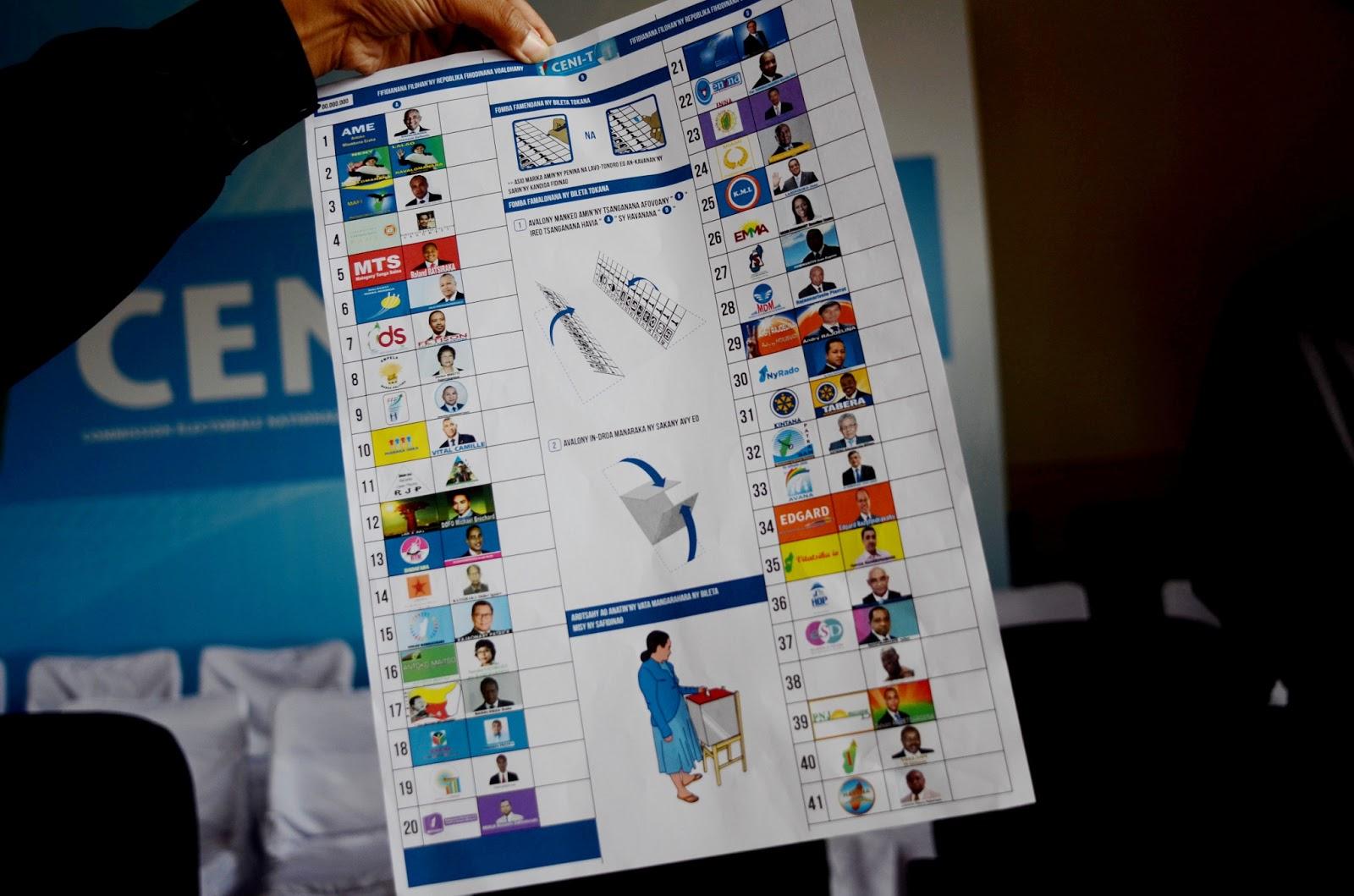 wHO's who? l'élection présidentielle à Madagascar en 18 photos  BULLETIN+4+CLR