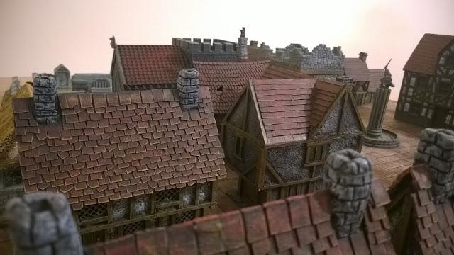 wargames scenery rooftops town open combat
