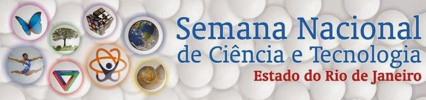 Semana Nacional de Ciência e Tecnologia RJ