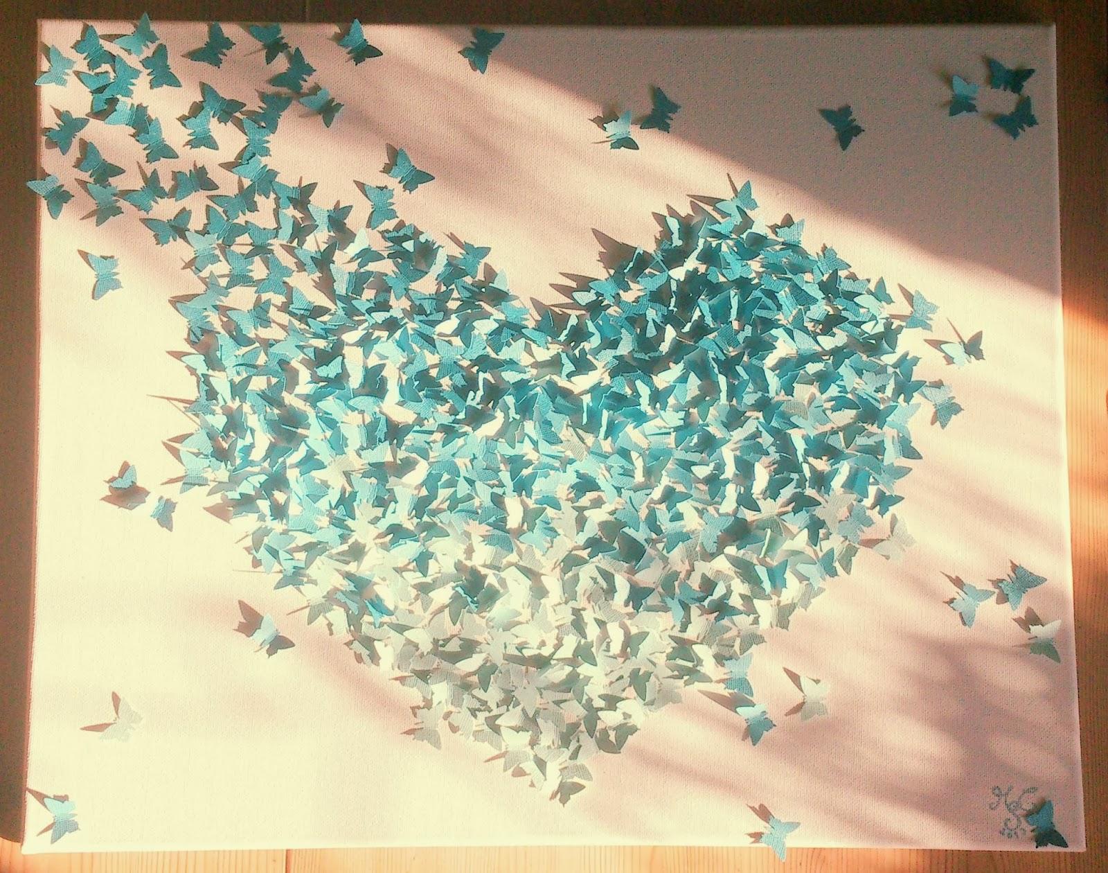 Miss Cherrychaos: DIY 3D-Gemälde