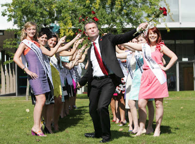 Daithi O Se the host of the Bachelors of the Year in the Bronx and the Rose of Tralee