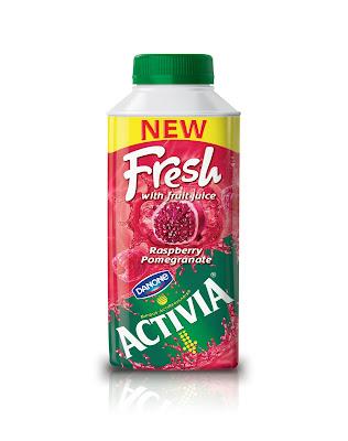 Activia'dan Meyvesulu yepyeni bir yaz serinliği : 'Activia Fresh'