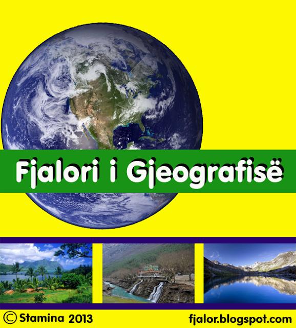Fjalor gjeografik