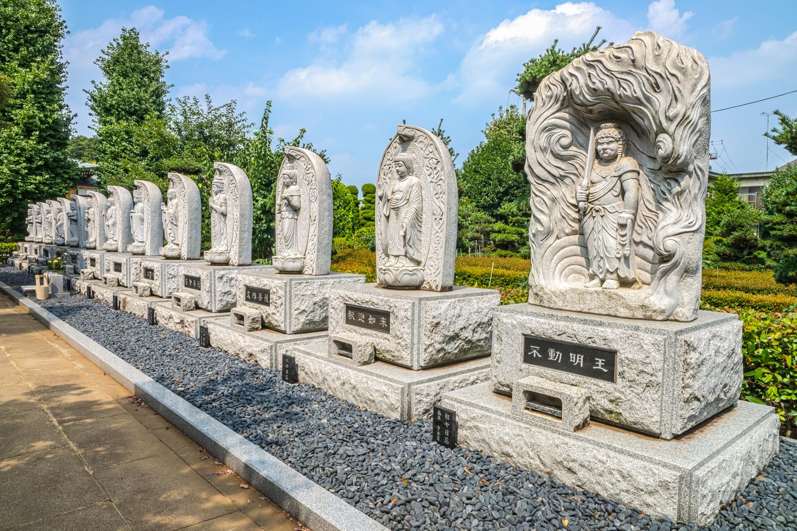 正福寺の参道の様子を写した写真