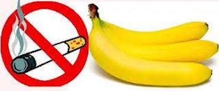 Pisang Solusi Untuk Berhenti Merokok