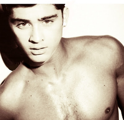 Pictures of Cute Shirtless Zayn Malik from One Direction
