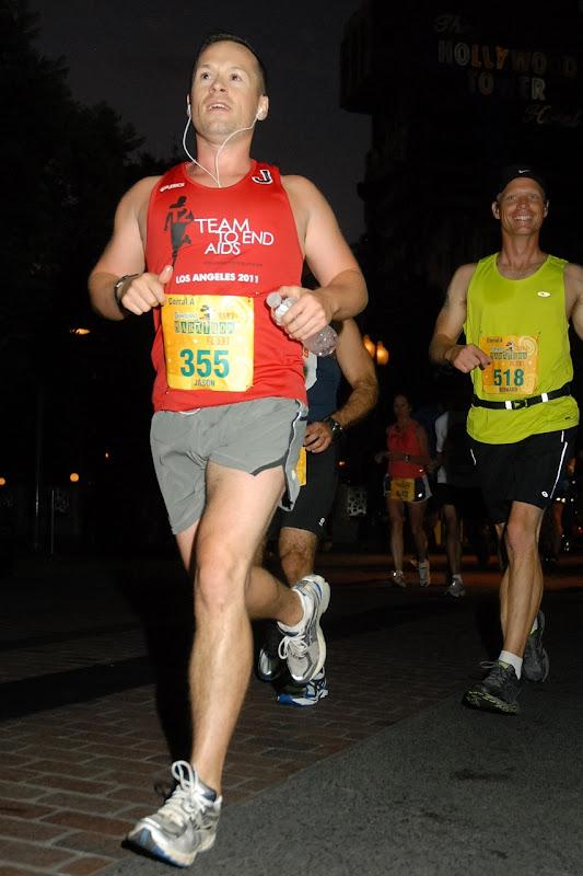Disneyland Half Marathon 2011 start