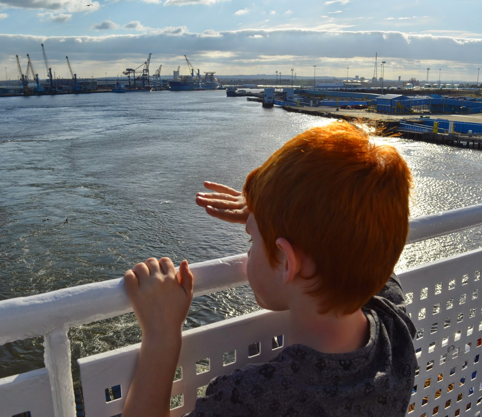 DFDS Seaways Newcastle - Amsterdam 20th anniversary day sailing