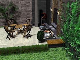 Model Desain Taman Minimalis Di Interior Rumah